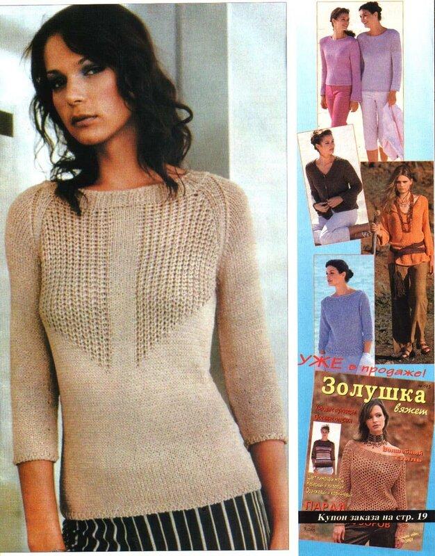 Модели Женских Пуловеров