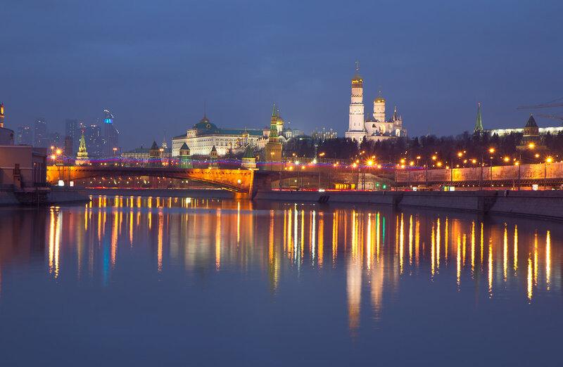 Вечерний Кремль