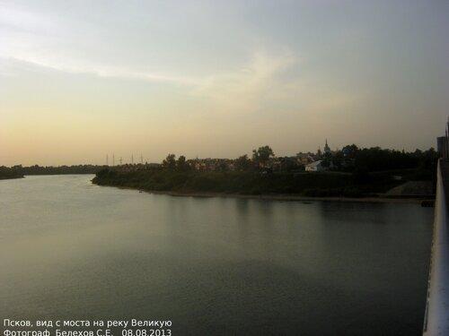 Псков, река