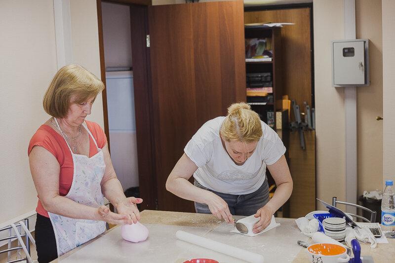 украшение тортов мастикой