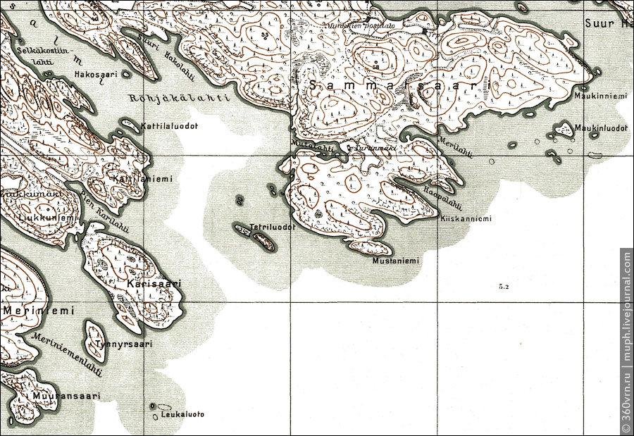 Карта шхер