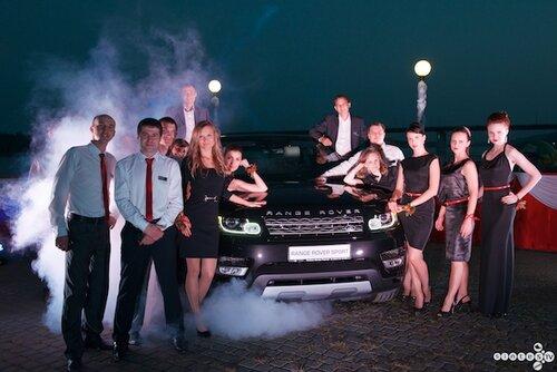 презентация New Range Rover Sport (г.Барнаул 18 августа 2013г.)