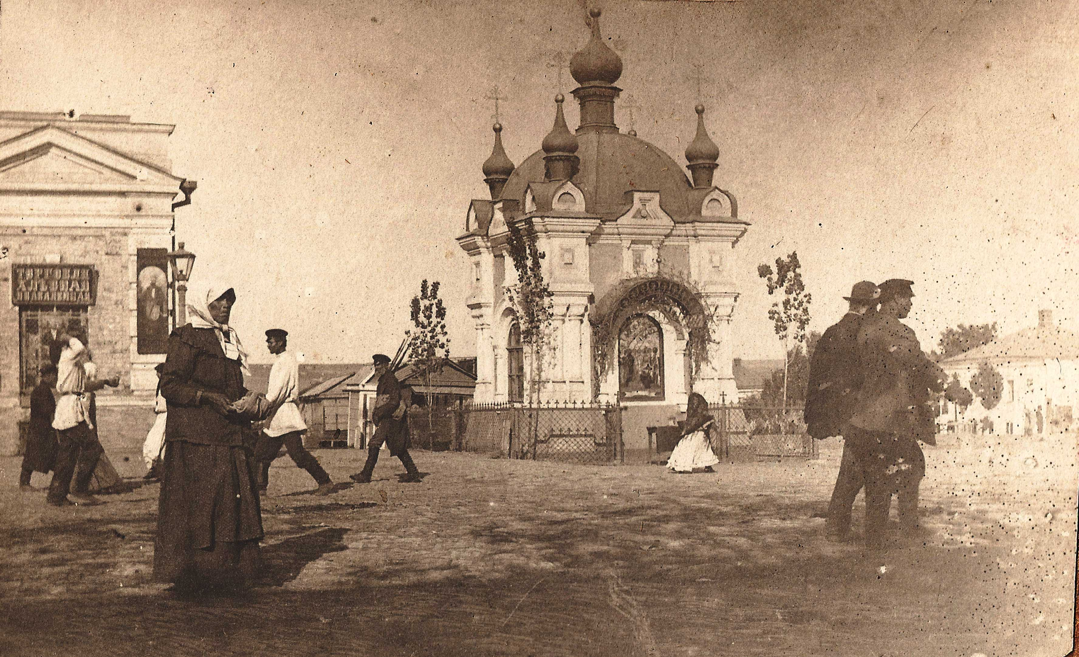 Часовня у Азовского рынка