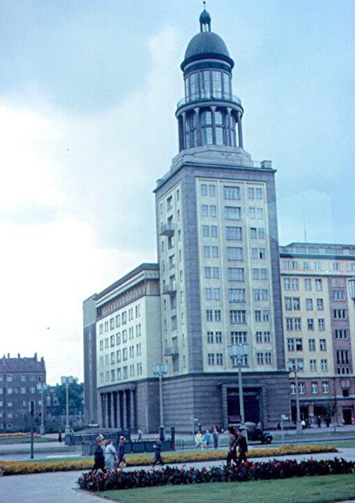1963. Восточный Берлин - Карл-Маркс-аллее