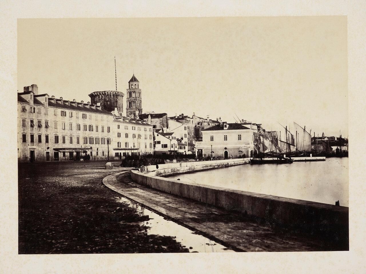 20 февраля 1865. Спалатро. Вид Набережной