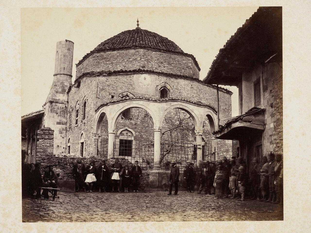 22 февраля 1862. Уличная сцена в Дурессе. Албания