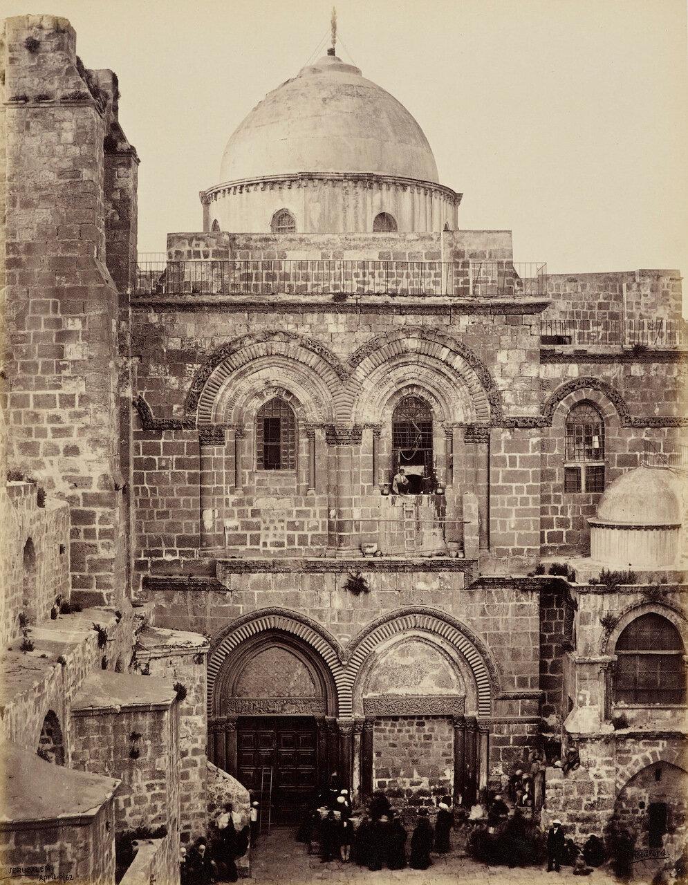 6 апреля 1862. Храм Гроба Господня. Иерусалим