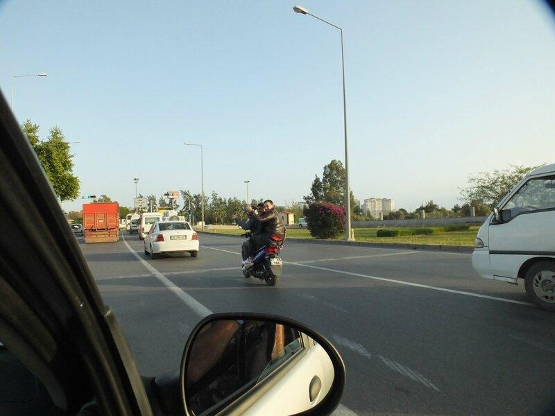 Турция, Анталия, скутер