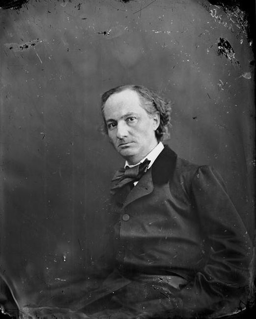 Charles Baudelaire by Félix Nadar
