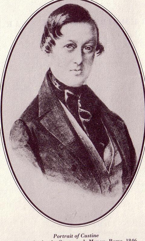 Маркиз де Кюстин.