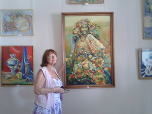Людмила Козырева в эфире передачи «Гостиная онлайн»
