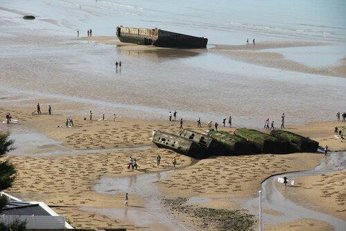 пляж Арроманш