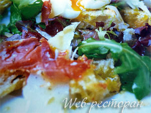 Салат с сухариками, рецепт
