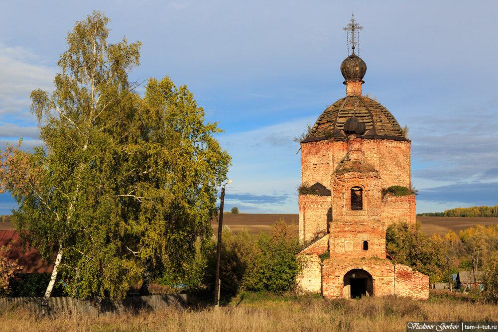 Хохлово, Введенская церковь