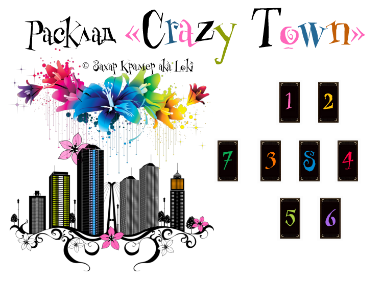 """Расклад - """"Crazy Town"""" 0_c4d36_3d229f2f_XL"""
