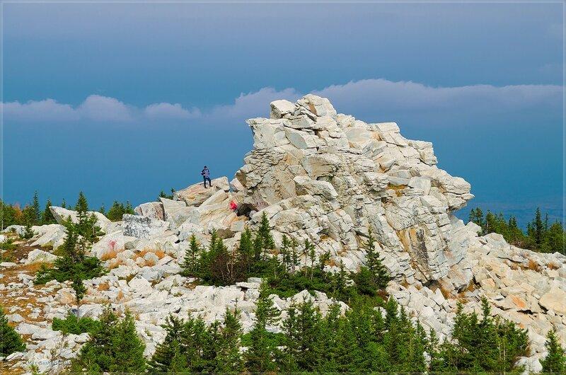 Скала Белый Медведь, Зюраткуль