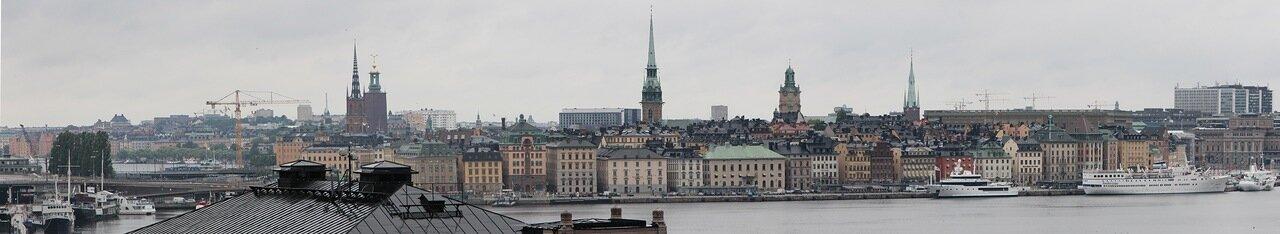 Stockholm. Стокгольм. panorama