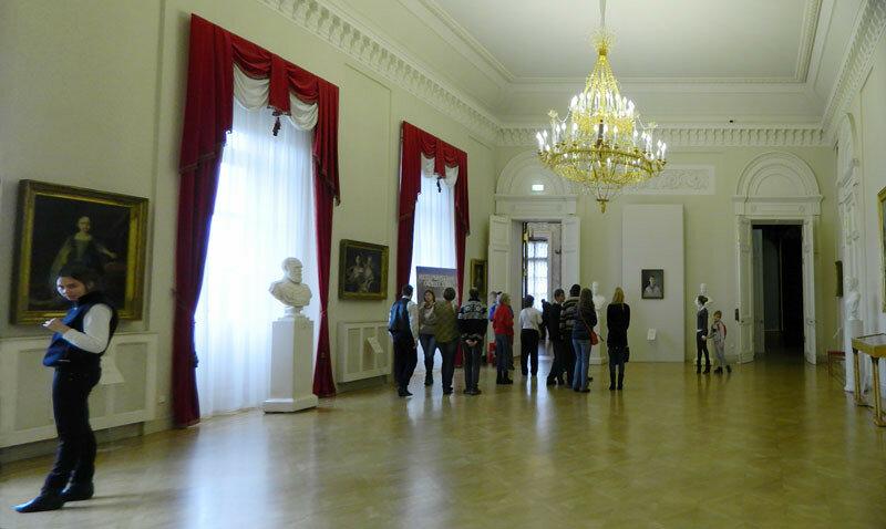 Михайловский замок. Общий столовый зал