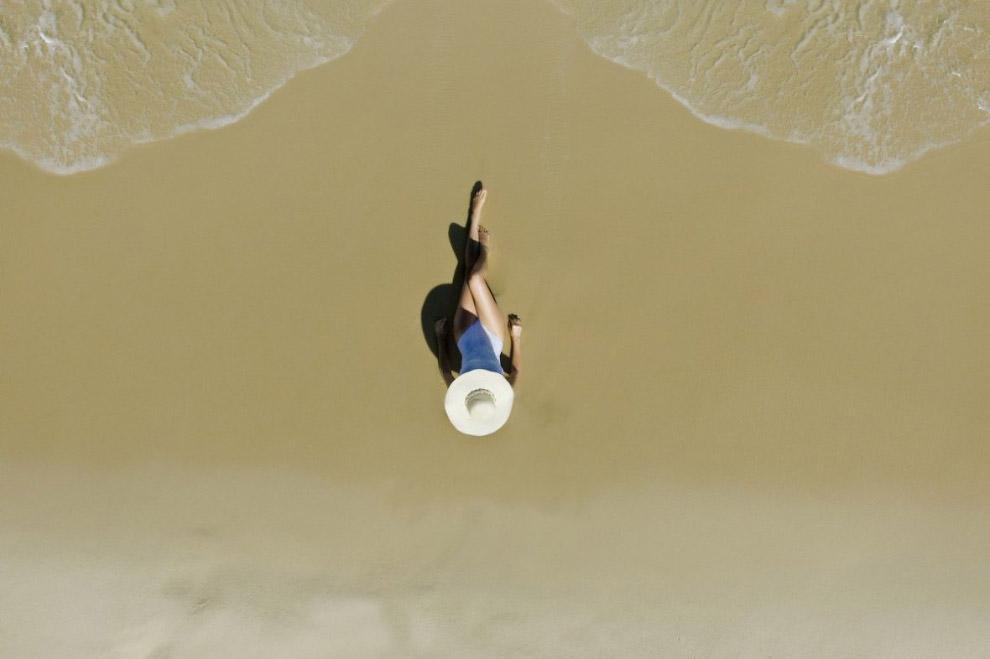 11. Тропический пляж в Доминиканской Республике. (Фото Dronestagram/ValentinValkov):