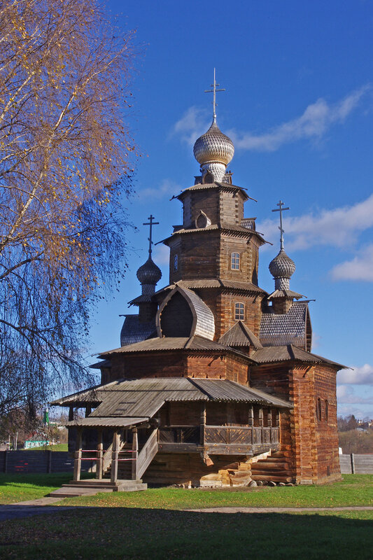 Преображенская церковь из с. Козлятьево