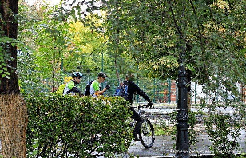 Велосипедисты, Саратов, Детский парк, 21 сентября 2013 года