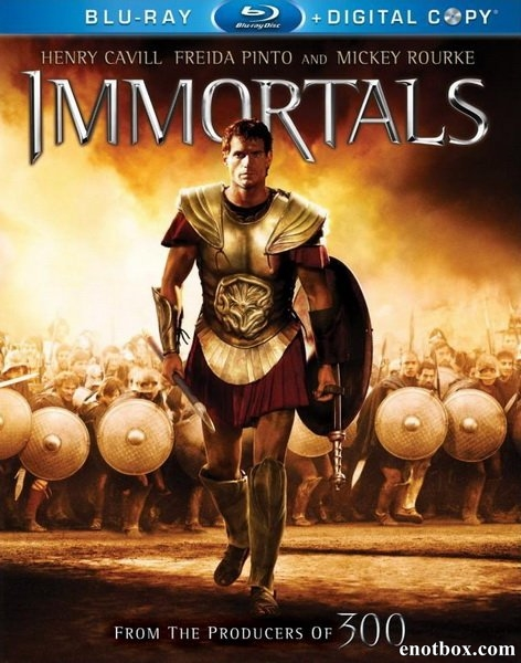 Война Богов: Бессмертные / Immortals (2011/BDRip/HDRip)