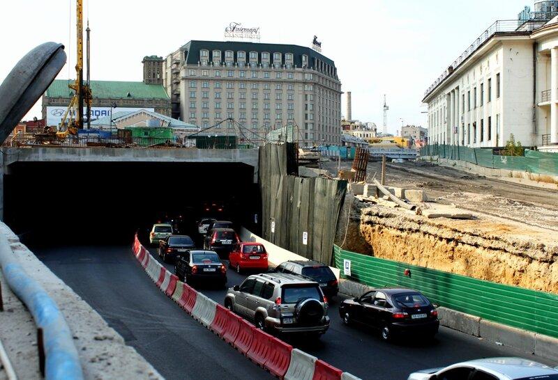 Новый тоннель на Почтовой площади