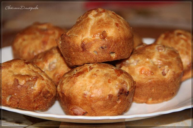 Рекомендую! Закусочные кексы