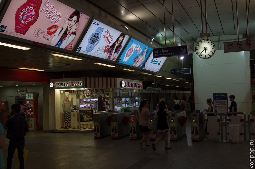 Вестибюль метро BTS Бангкок