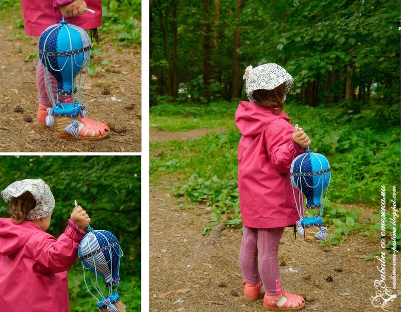 как сшить текстильный воздушный шар