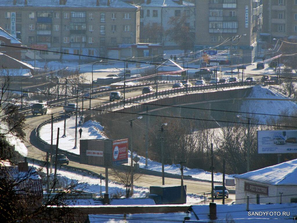 Старый мост в Троицке