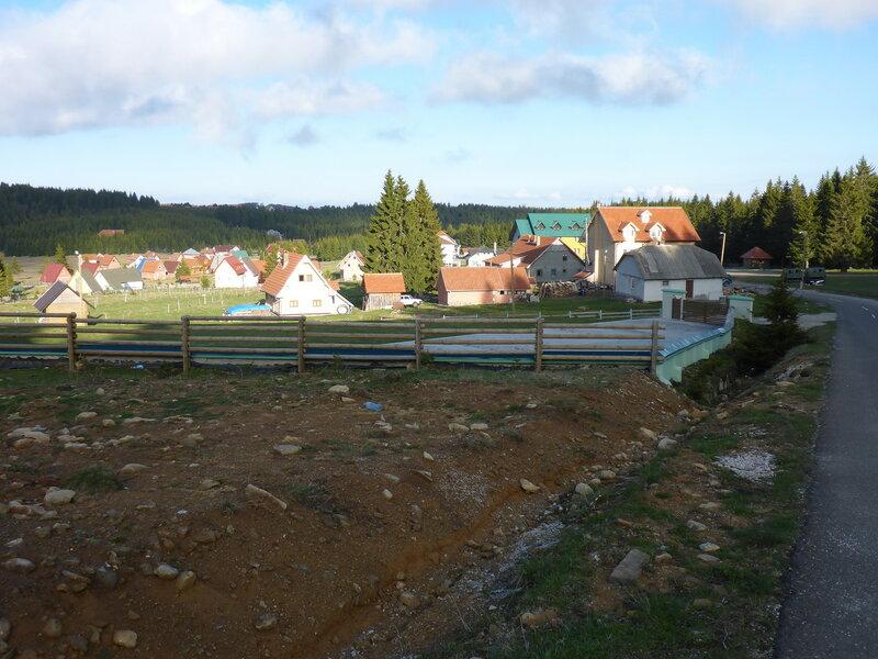 Одвраченица коттеджный поселок в парке голия (голиjа)