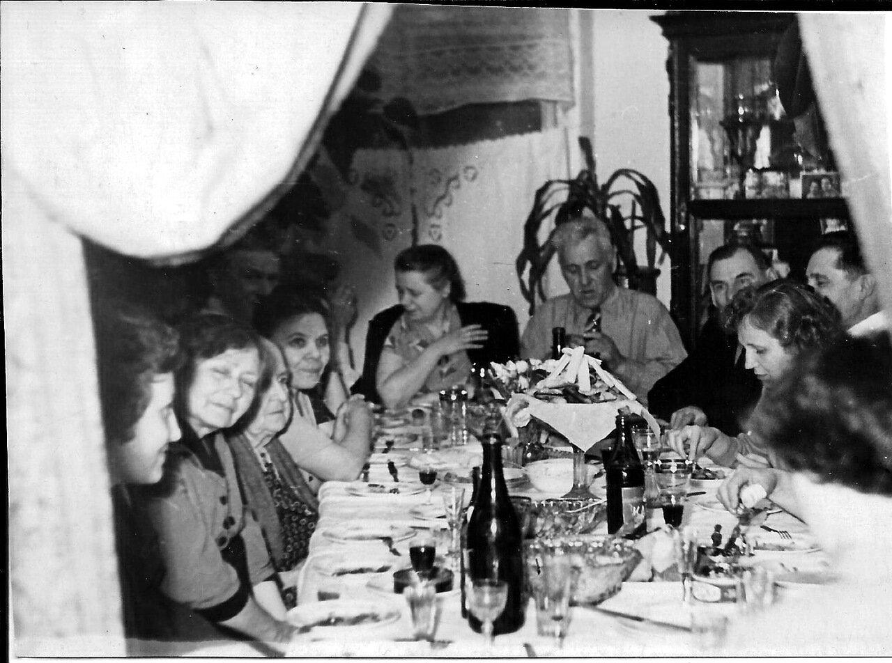 1961.Никитины. Серебряная свадьба