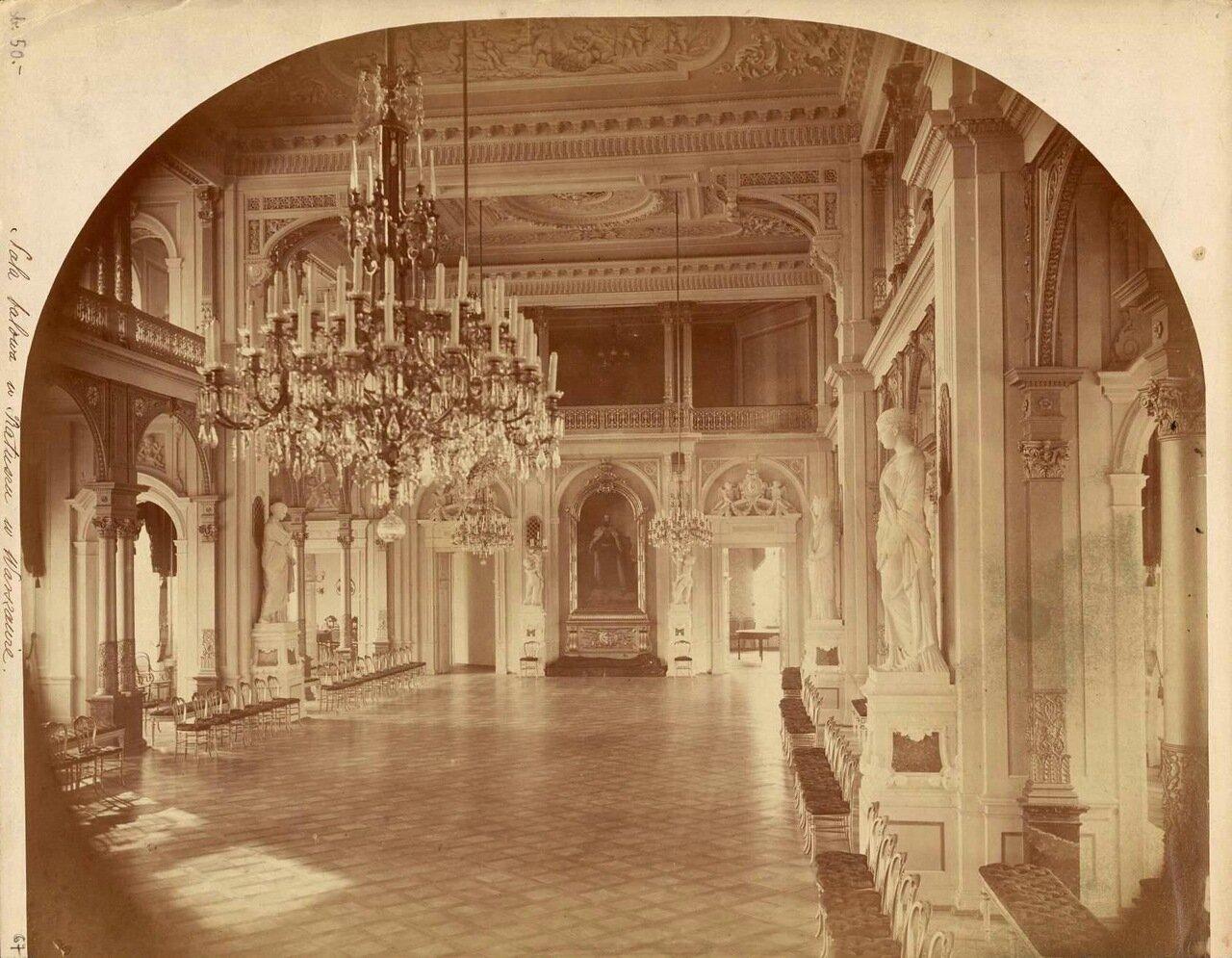 Интерьер дворца Яблоновского 1870