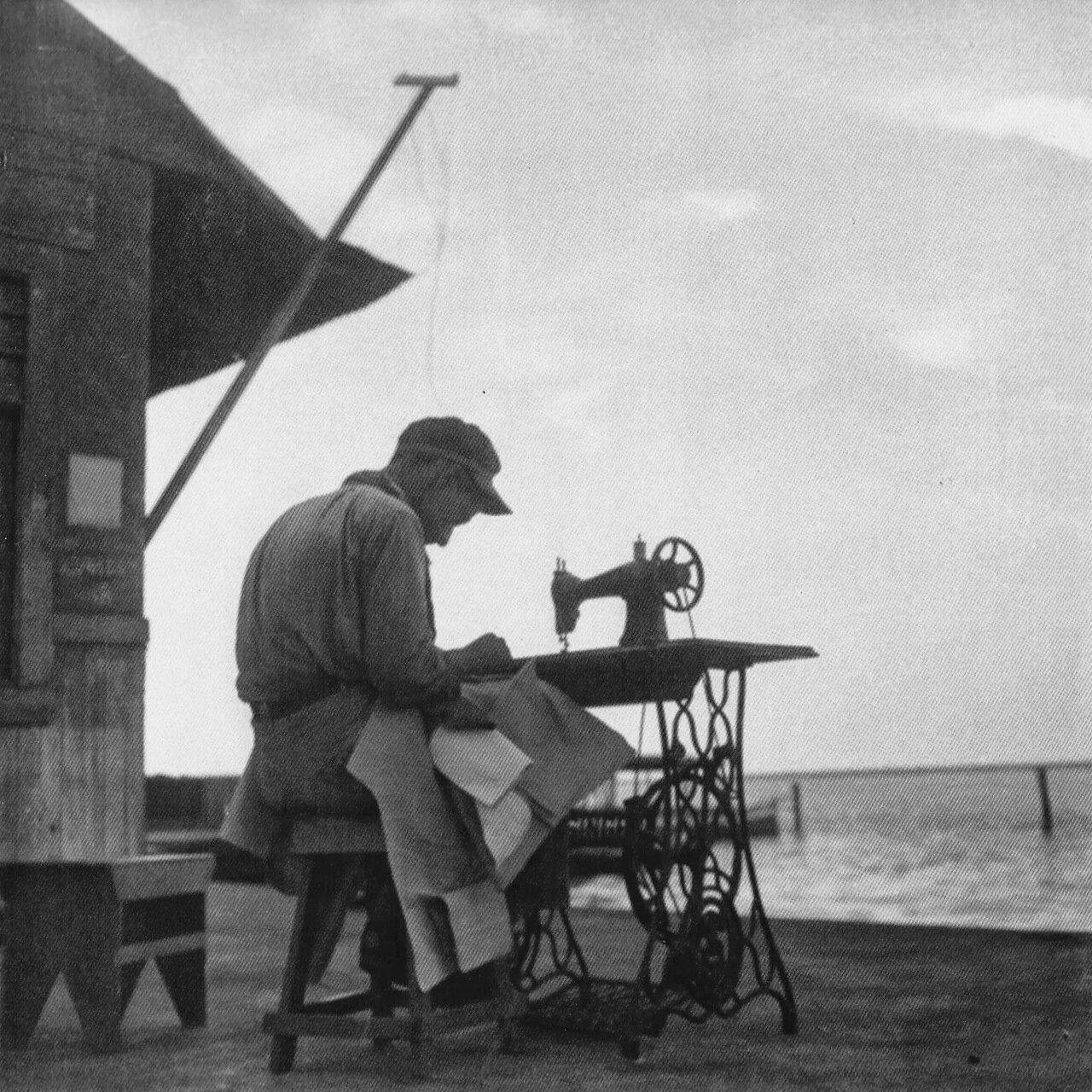 1930-е. Шитье на ветру