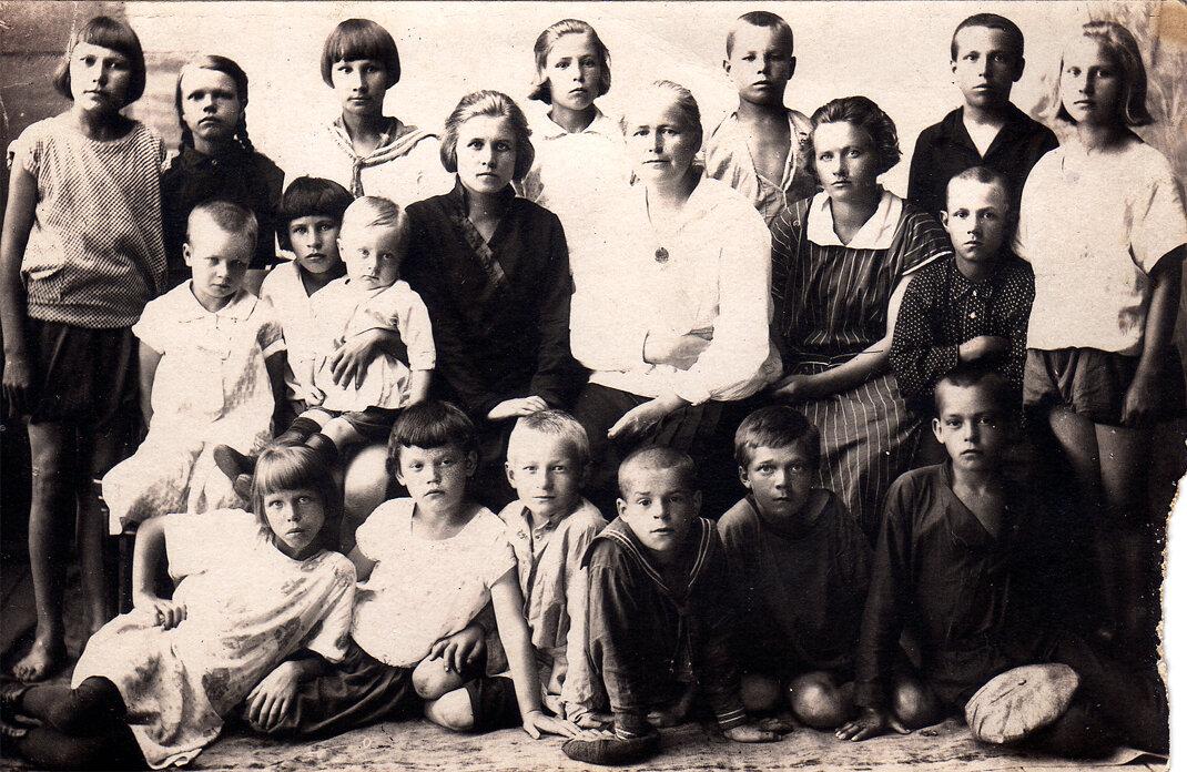 1928. Железнодорожная школа.  Березники