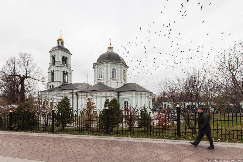 Церковь Иконы Божией Матери Живоносный Источник в Царицыно - объектив Sony SEL-1018 10-18 mm F/4 OSS