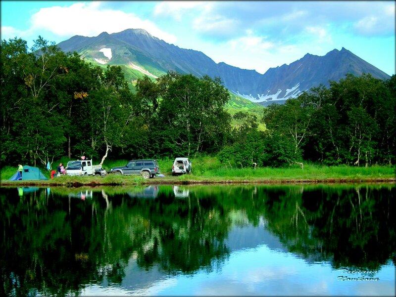 Зеркала Камчатстких озёр.