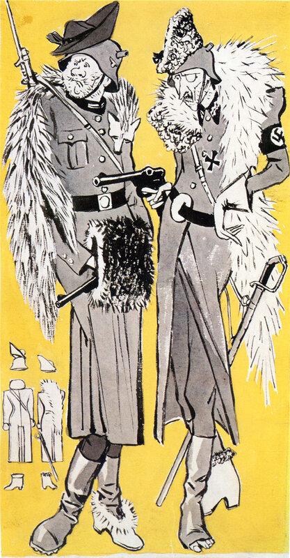 немецкий солдат, как немцы мерзли от морозов
