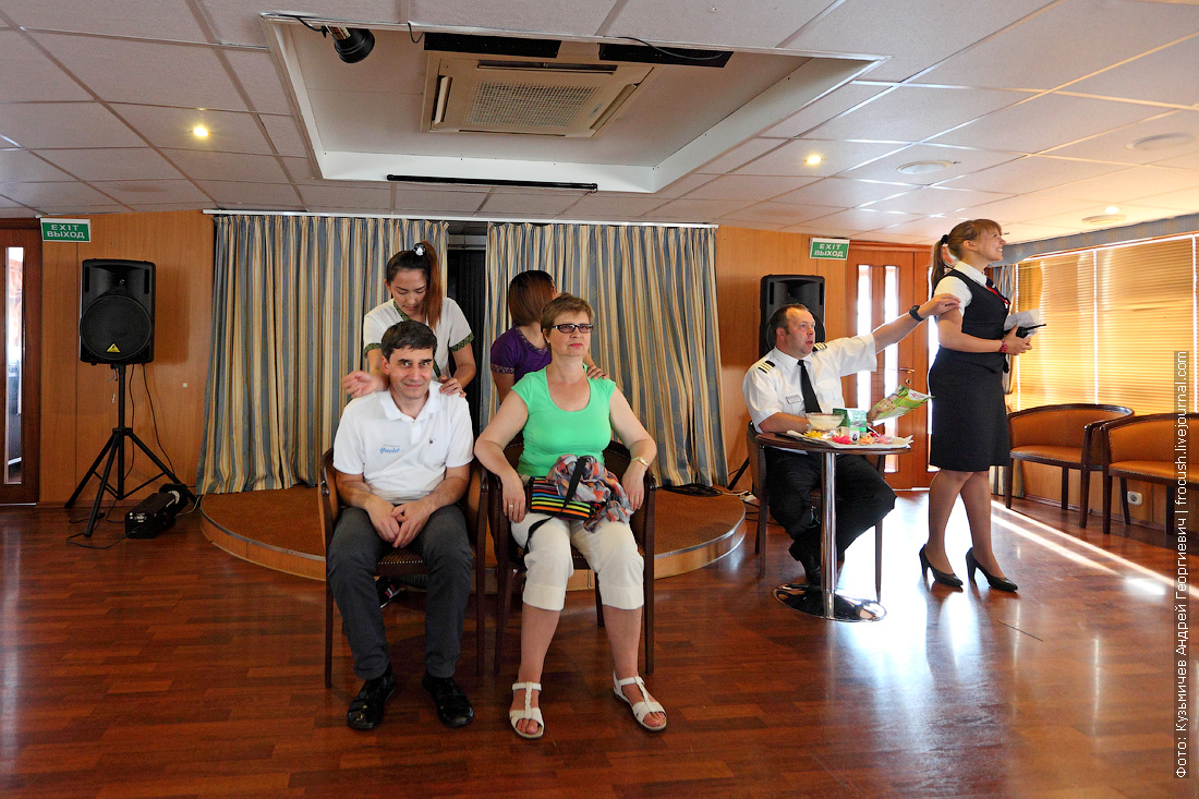 презентация спа-салона и тайского массажа на теплоходе Михаил Булгаков