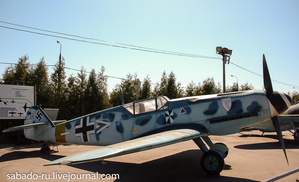 немецкие самолеты в парке победы