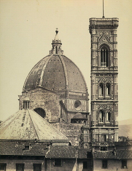 Dome and Bell tower of the Cathedral of S. Maria del Fiore, Florence
