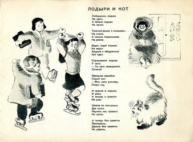 Маршак кот и лодыри стихотворение