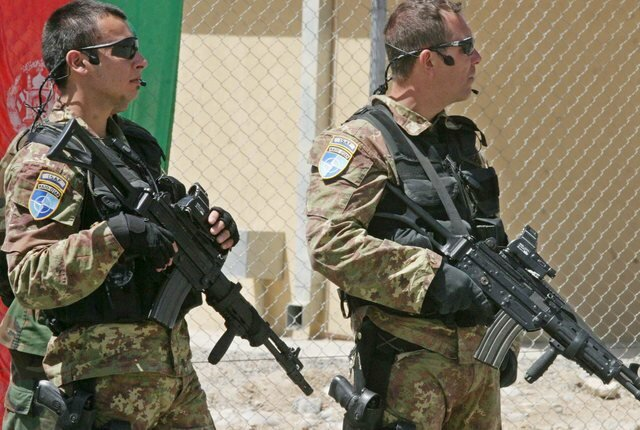 Afghanistan NATO soldiers
