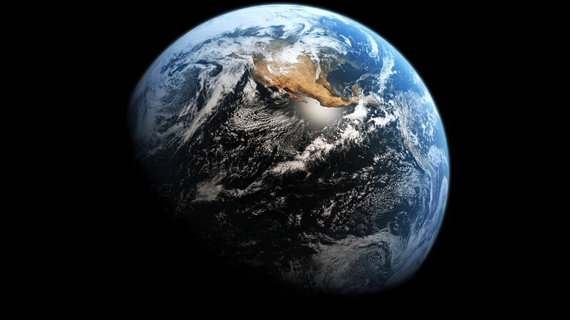 Как будет выглядеть Земля,если растает весь лед?