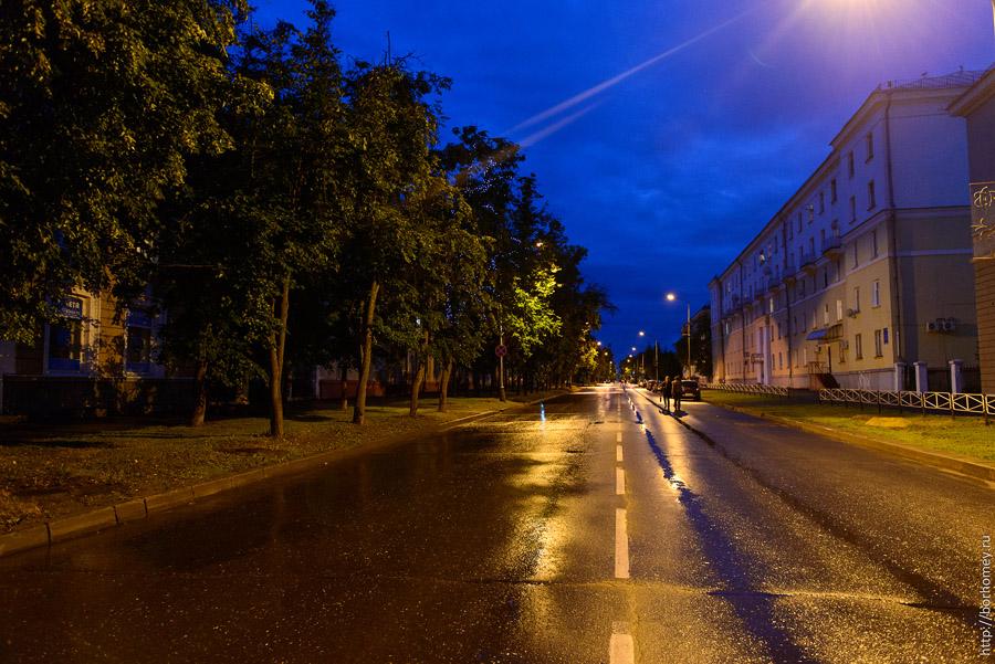 пешеходная улица в сарове