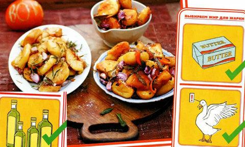 Как приготовить картофель в духовке - идеальный!