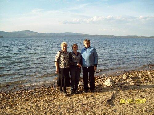 Живописный берег Тургояка