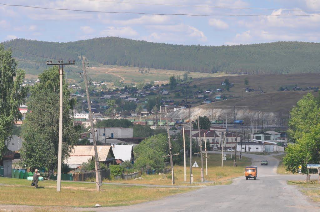 Панорама поселка (03.07.2014)