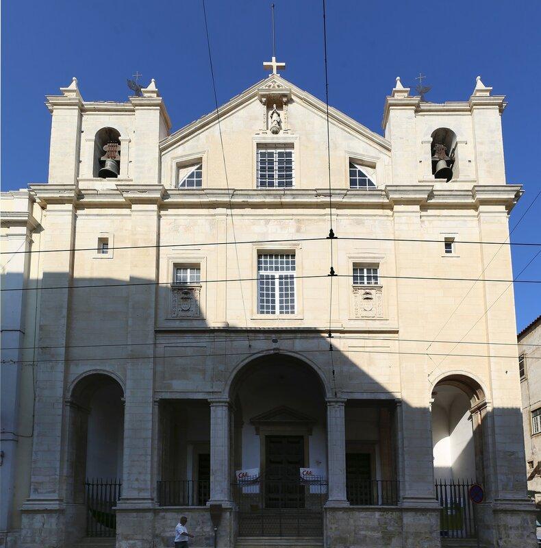 Коимбра. Церковь Кармелитов (Igreja da Nossa Senhora do Carmo)